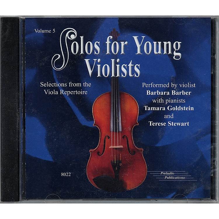 Alfred Solos for Young Violists Vol. 5 (CD)