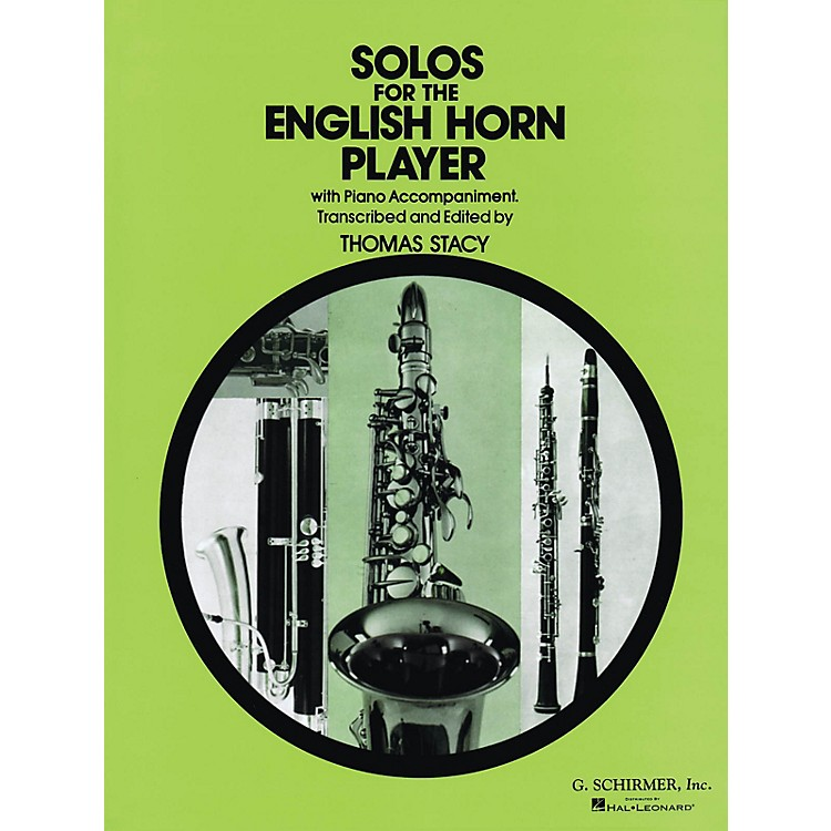 G. SchirmerSolos for the English Horn Player Woodwind Series Composed by Various Edited by P Thomas
