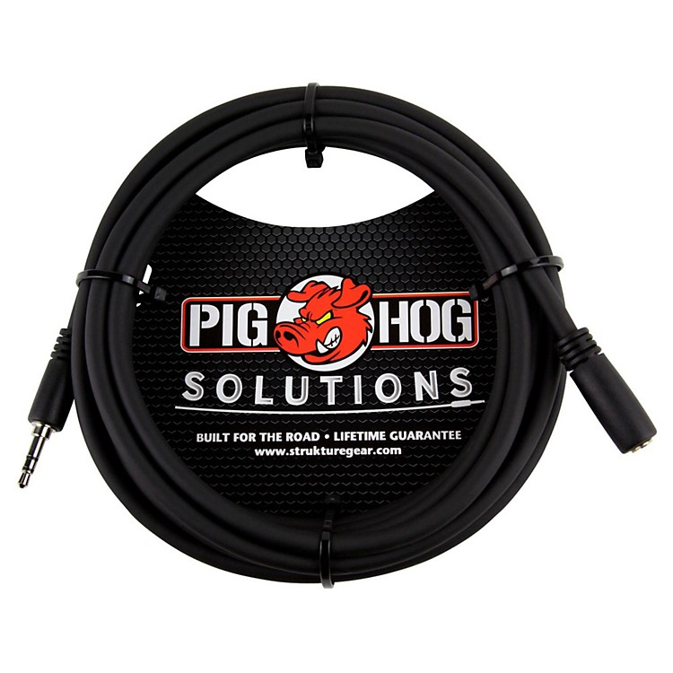 Pig HogSolutions Headphone Extension Cable 3.5mm (10 ft.)10 ft.