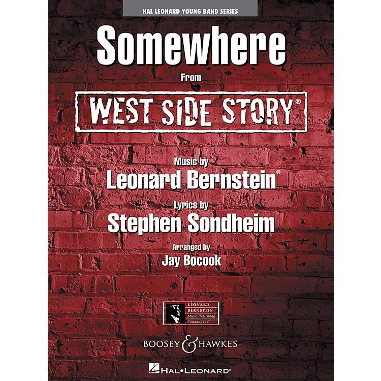 Hal LeonardSomewhere (from WEST SIDE STORY) Concert Band Level 3 Arranged by Jay Bocook