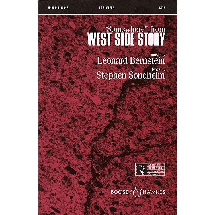 Leonard Bernstein MusicSomewhere (from West Side Story) SSA Arranged by William Jonson