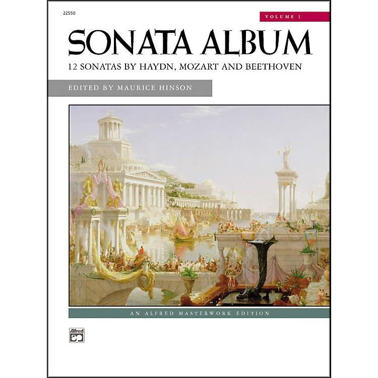 AlfredSonata Album Volume 1 Intermediate/Early Advanced Piano