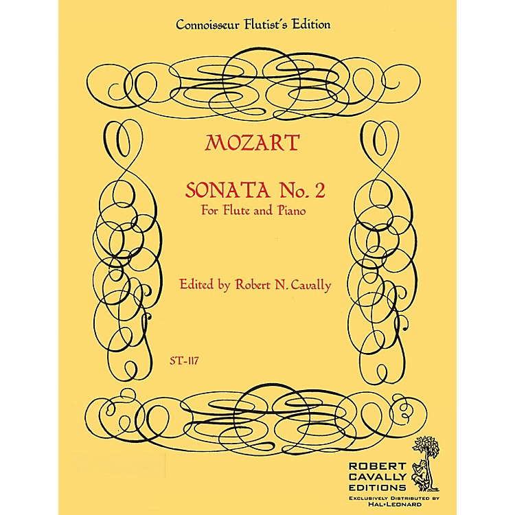 Hal LeonardSonata No. 2 in G (Connoisseur Flutist's Edition) Robert Cavally Editions Series by Robert Cavally