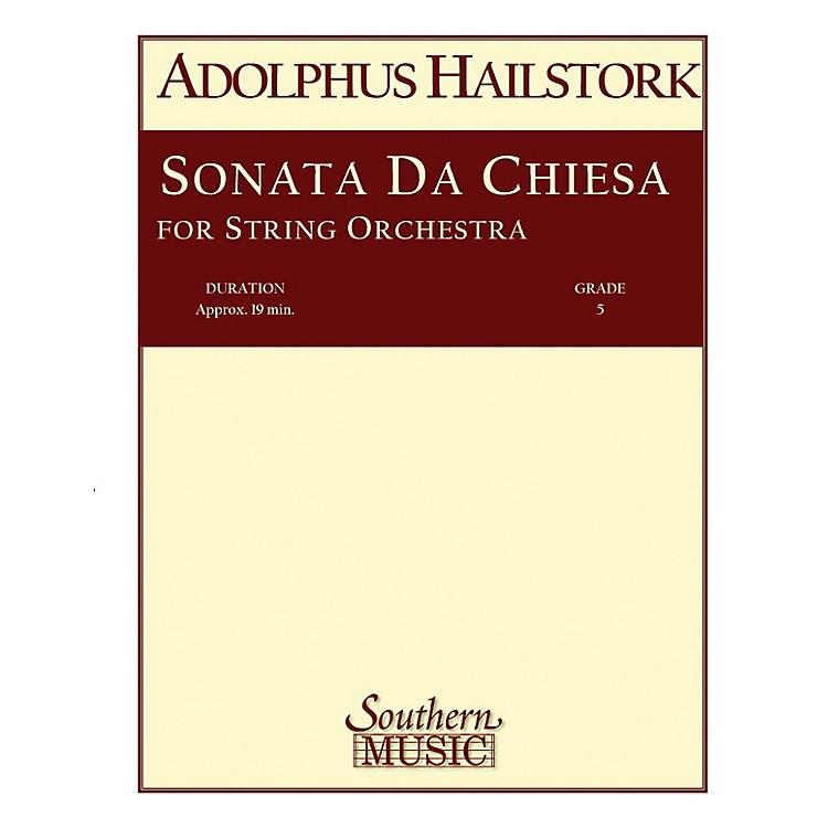SouthernSonata da Chiesa (String Orchestra Music/String Orchestra) Southern Music Series by Arcangelo Corelli