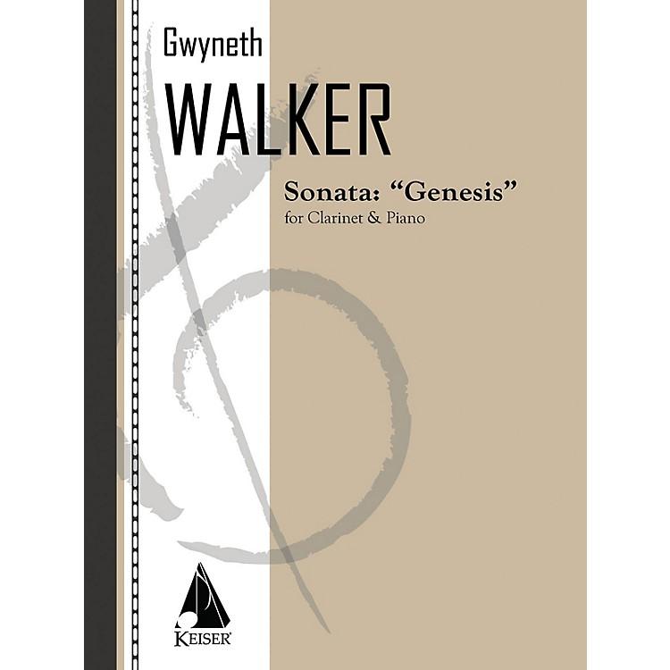 Lauren Keiser Music PublishingSonata for Clarinet and Piano: Genesis LKM Music Series Composed by Gwyneth Walker