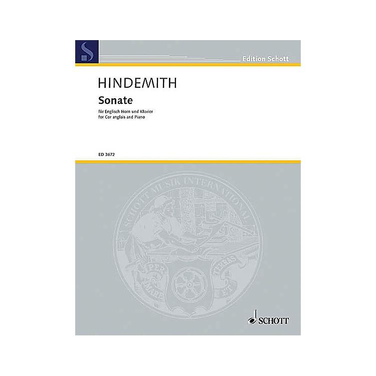 SchottSonata for English Horn and Piano (English Horn and Piano) Schott Series