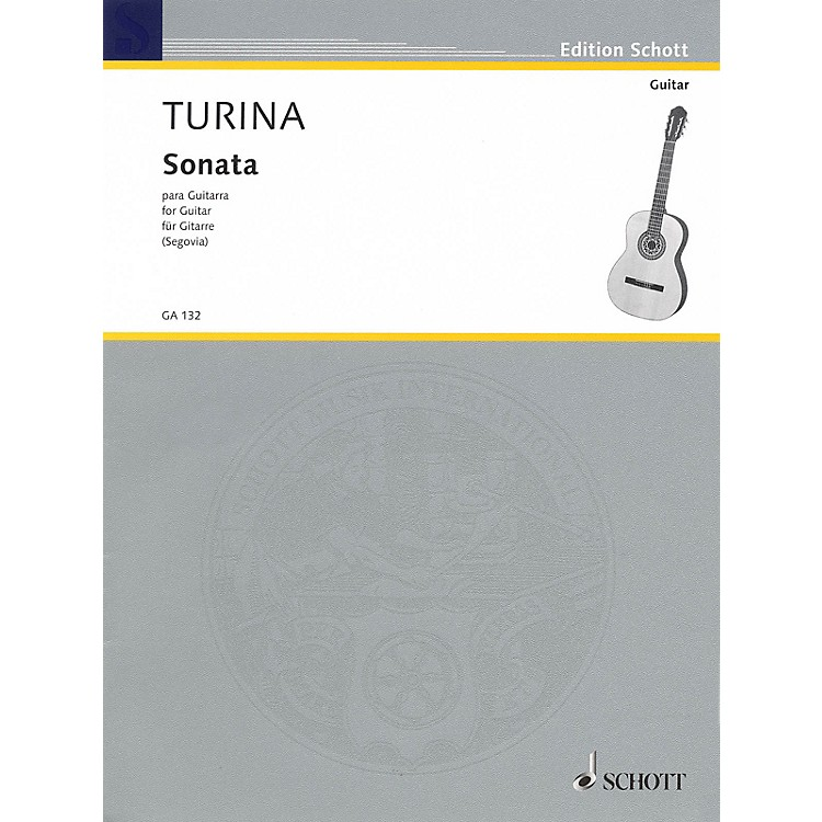 Schott Sonata for Guitar Schott Series