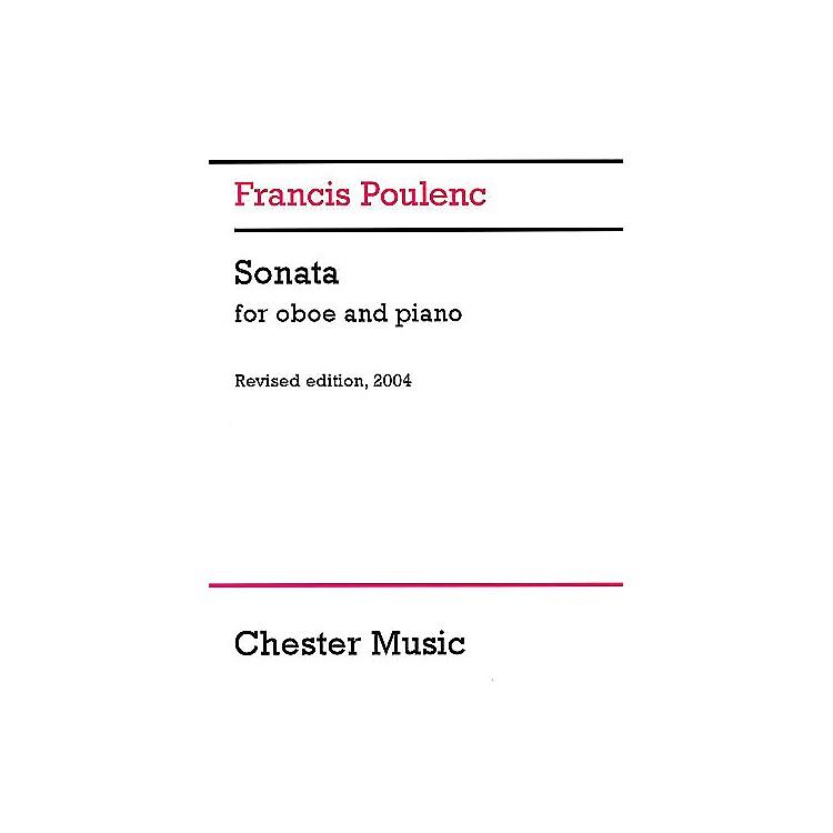 Chester MusicSonata for Oboe and Piano (Revised edition, 2004) Music Sales America Series Book