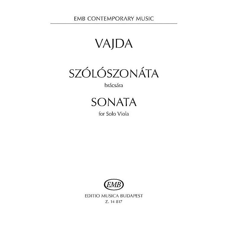 Editio Musica BudapestSonata for Solo Viola EMB Series Softcover