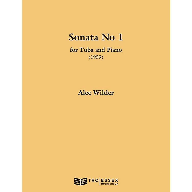 TRO ESSEX Music GroupSonata for Tuba and Piano (1959) (Tuba (B.C.)) Richmond Music ¯ Instrumental Series by Alec Wilder