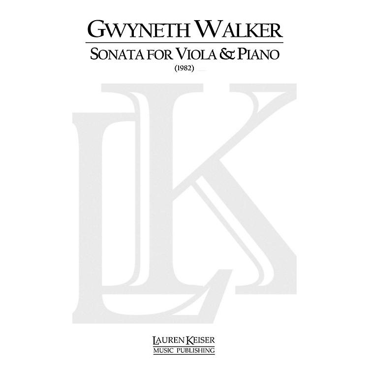 Lauren Keiser Music PublishingSonata for Viola and Piano LKM Music Series Composed by Gwyneth Walker