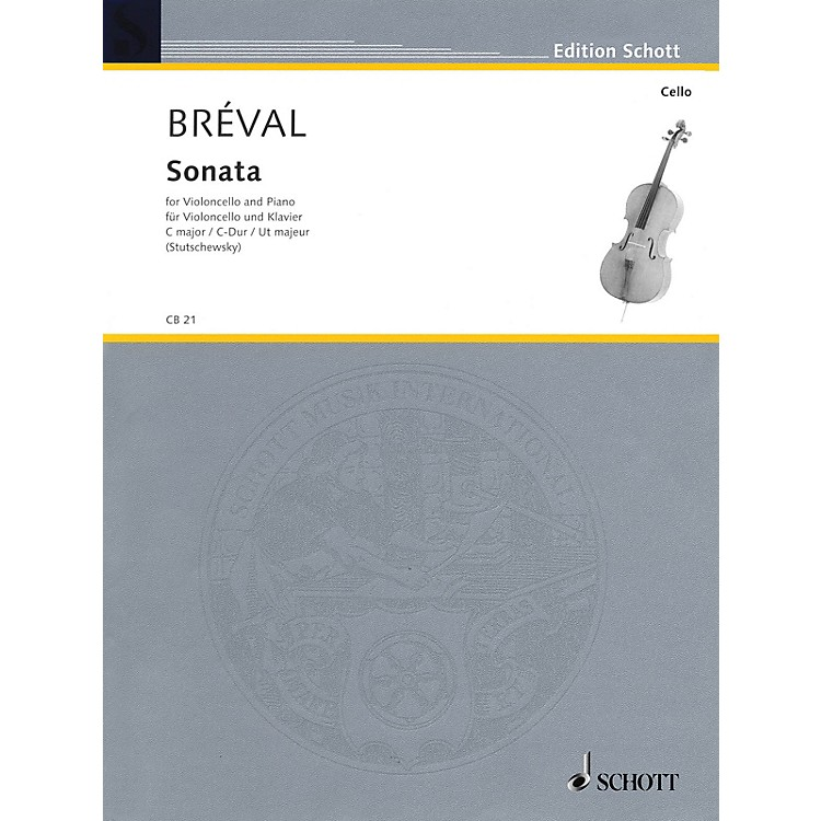 SchottSonata in C Major, Op. 42 (Cello and Piano) Schott Series