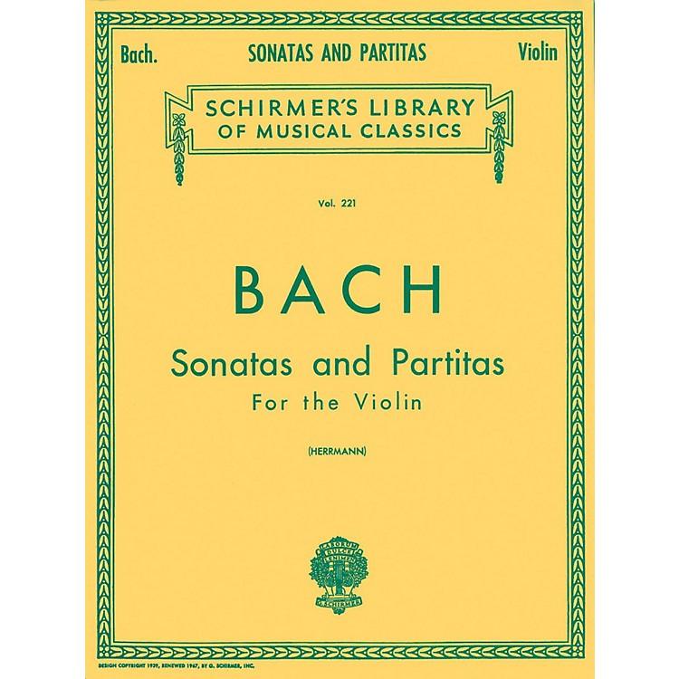 G. SchirmerSonatas And Partitas Violin Unaccompanied By Bach
