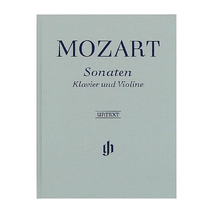 G. Henle VerlagSonatas for Piano and Violin - Volumes I-III Henle Music Folios Series Hardcover
