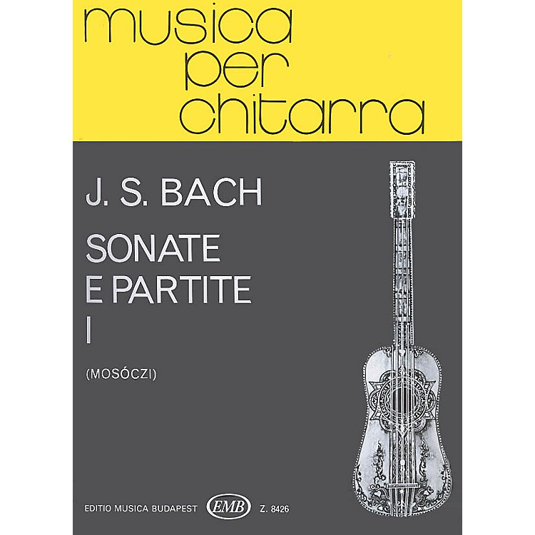 Editio Musica BudapestSonate & Partite - Volume 1 EMB Series by Johan Sebastian Bach