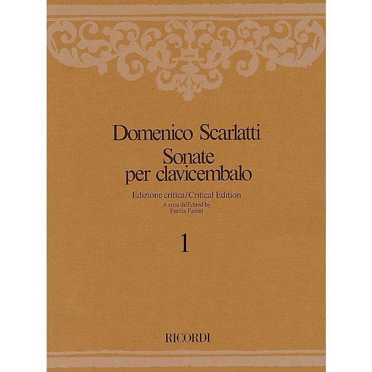 RicordiSonate per Clavicembalo Volume 2 Critical Edition Piano Collection by Scarlatti Edited by Emilia Fadini
