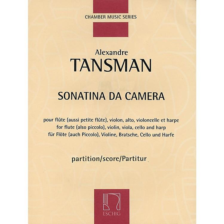 Max EschigSonatina da camera (Score) Editions Durand Series Composed by Alexandre Tansman