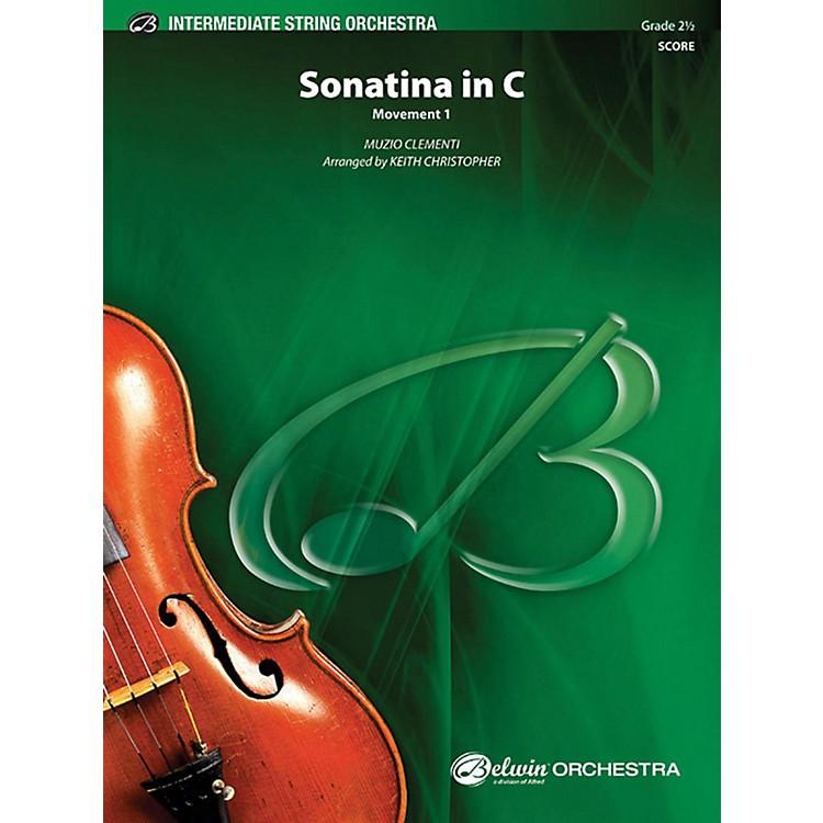 AlfredSonatina in C String Orchestra Grade 2.5