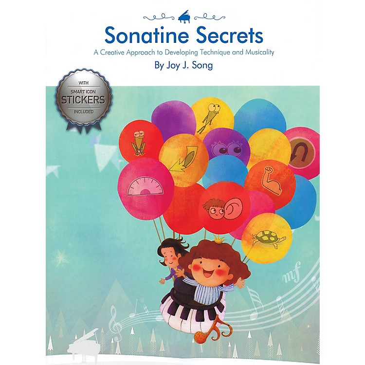 Korea Institute of Piano Pedagogy Sonatine Secrets Educational Piano Library Series Softcover Written by Joy J. Song