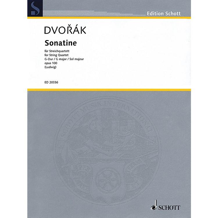 Schott MusicSonatine (String Quartet Score and Parts) String Series Composed by Antonín Dvorák