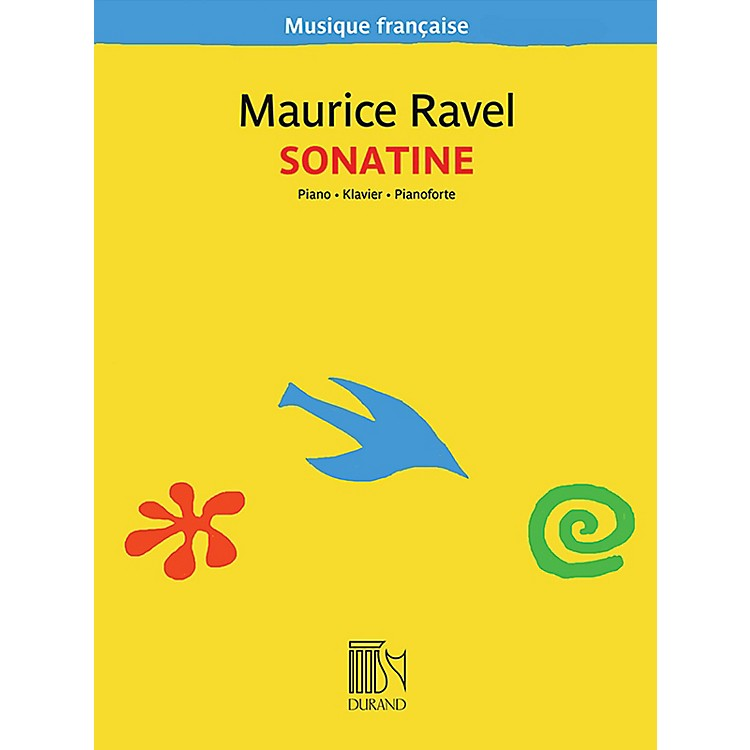 Editions DurandSonatine for Piano (Musique française series) Editions Durand Series Softcover Composed by Maurice Ravel