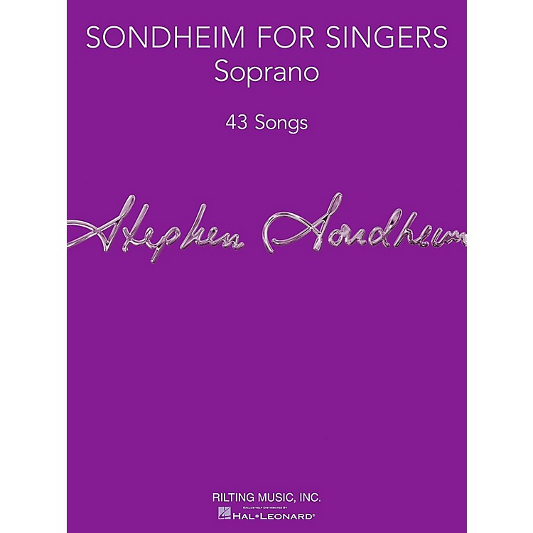 Hal LeonardSondheim For Singers - Soprano