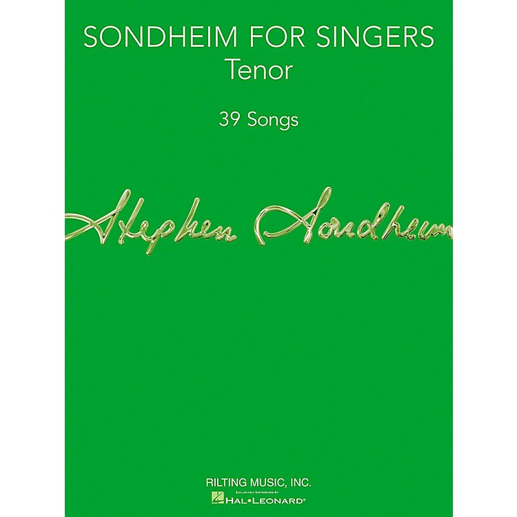 Hal Leonard Sondheim For Singers - Tenor