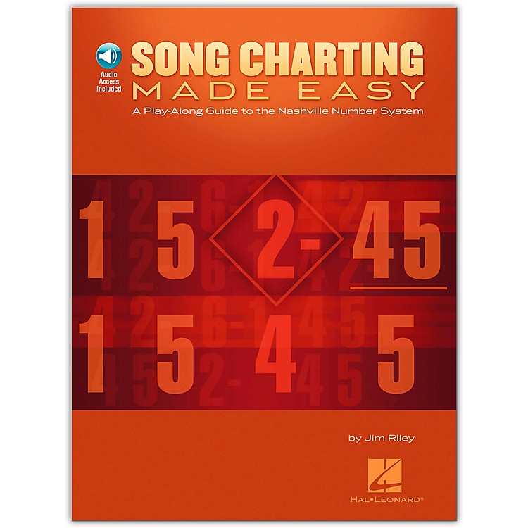 Hal Leonard Song Charting Made Easy - Guide To The Nashville Number System  Book/CD Play-Along