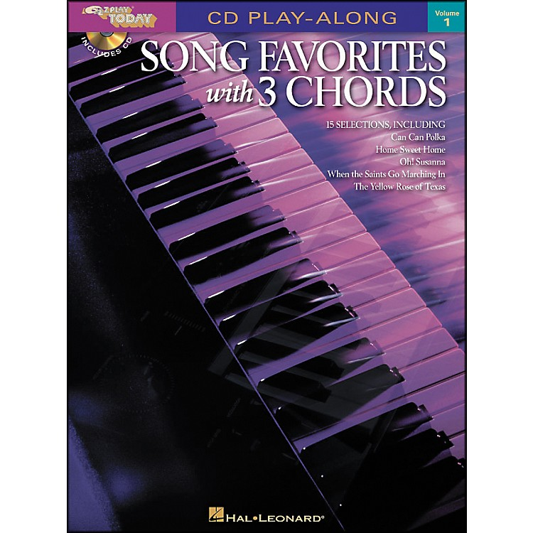 Hal Leonard Song Favorites with 3 Chords Volume 1 Book/CD CD Play-Along E-Z Play Today