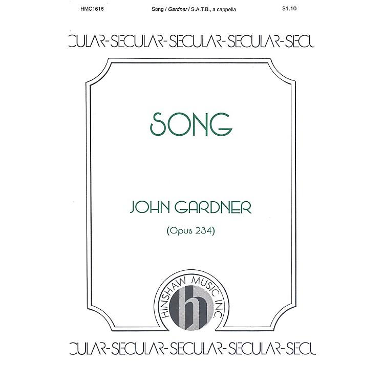 Hinshaw MusicSong SATB composed by John Gardner