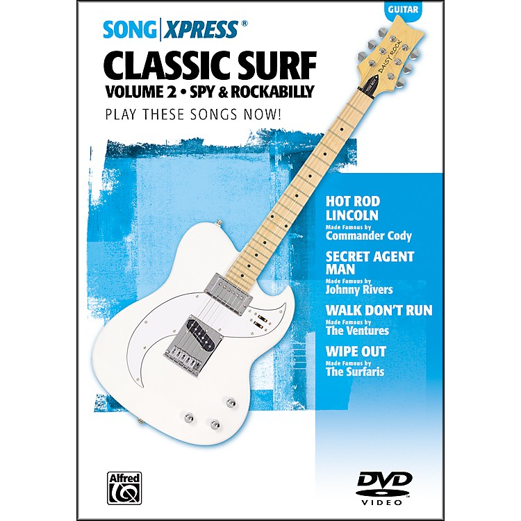 AlfredSongXpress Classic Surf Guitar Volume 2 DVD