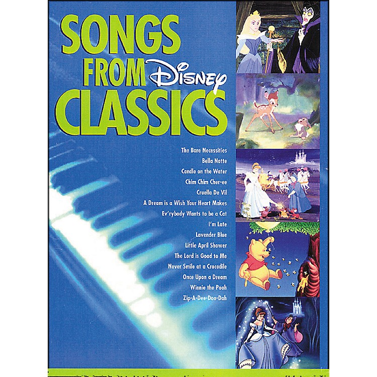 Hal Leonard Songs From Disney Classics for Big Note Piano