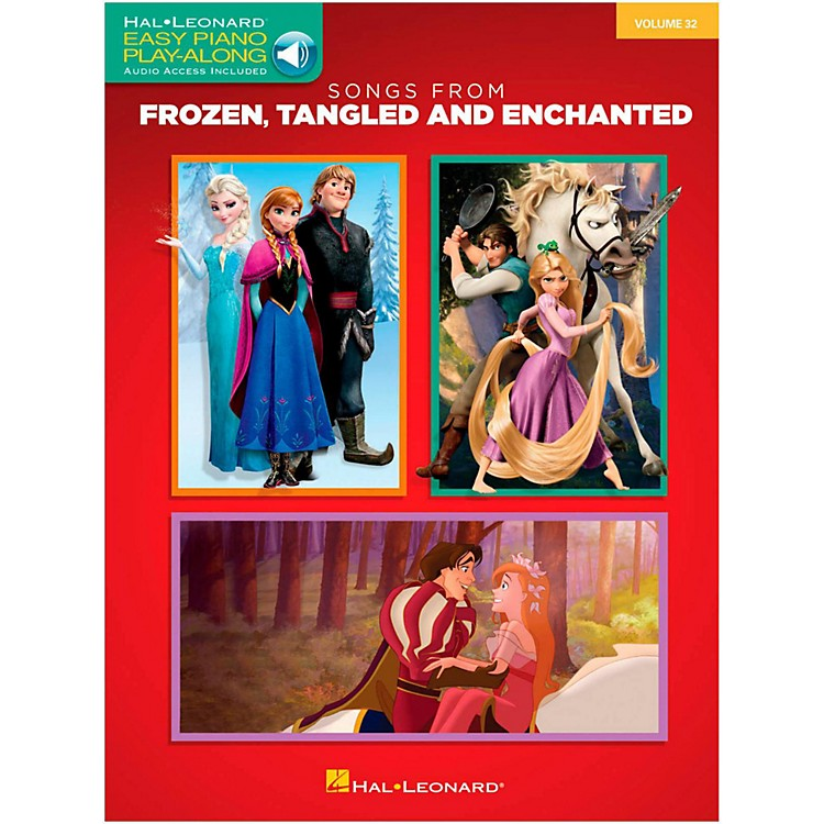 Hal Leonard Songs From Frozen, Tangled and Enchanted - Easy Piano Online Audio Play-Along Volume 32 Book/Online Audio