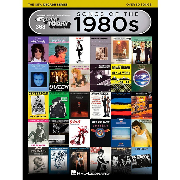 Hal Leonard Songs Of The 1980s - The New Decade Series E-Z Play Today Volume 368
