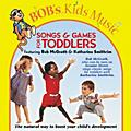 Bob McGrath Songs and Games for Toddlers (CD)  -thumbnail