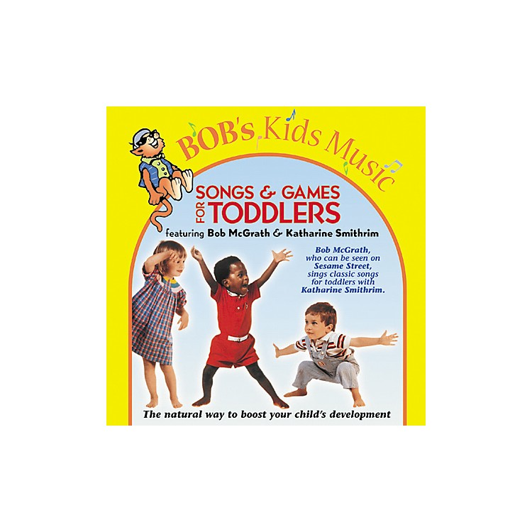 Bob McGrath Songs and Games for Toddlers (CD)