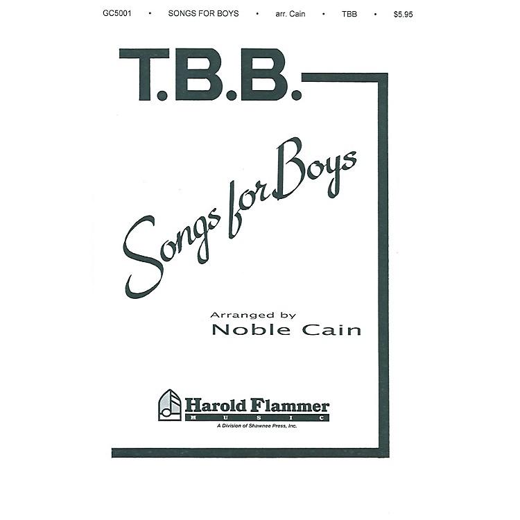 Shawnee PressSongs for Boys TTB arranged by Noble Cain
