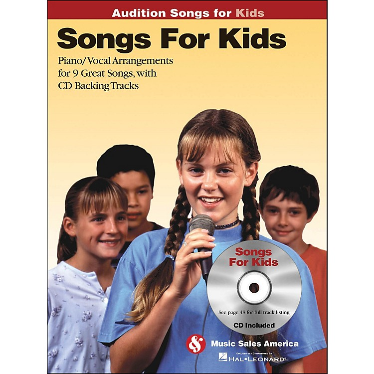 Hal Leonard Songs for Kids - Audition Songs Series Book/CD