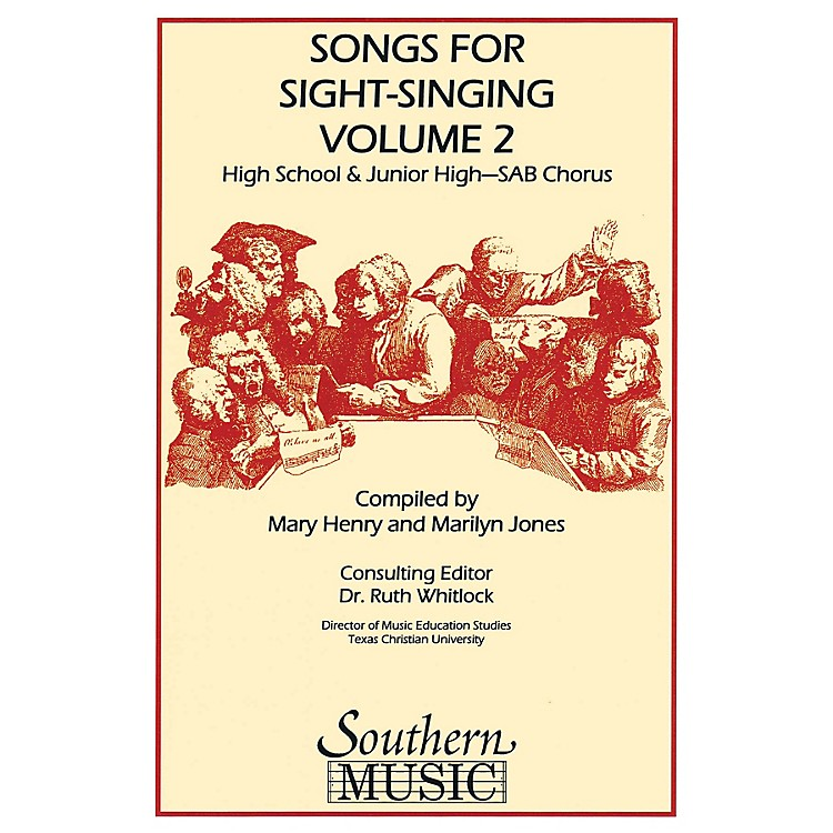 Southern Songs for Sight Singing - Volume 2 (Junior High/High School Edition SAB Book) SAB Arranged by Mary Henry