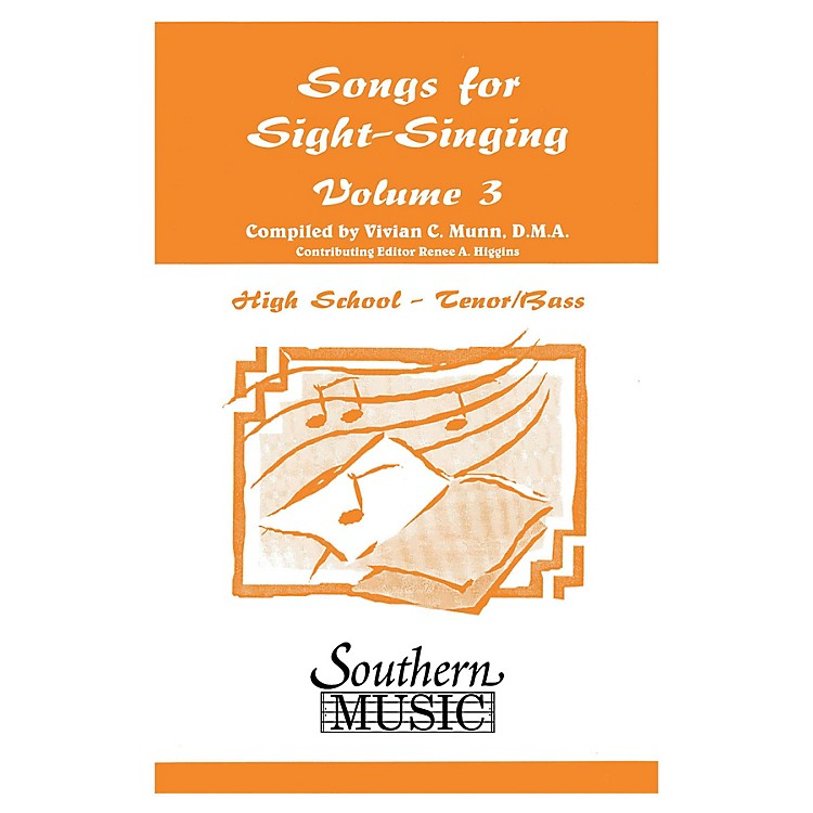 Southern Songs for Sight Singing - Volume 3 (High School Edition TB Book) TB Arranged by Mary Henry