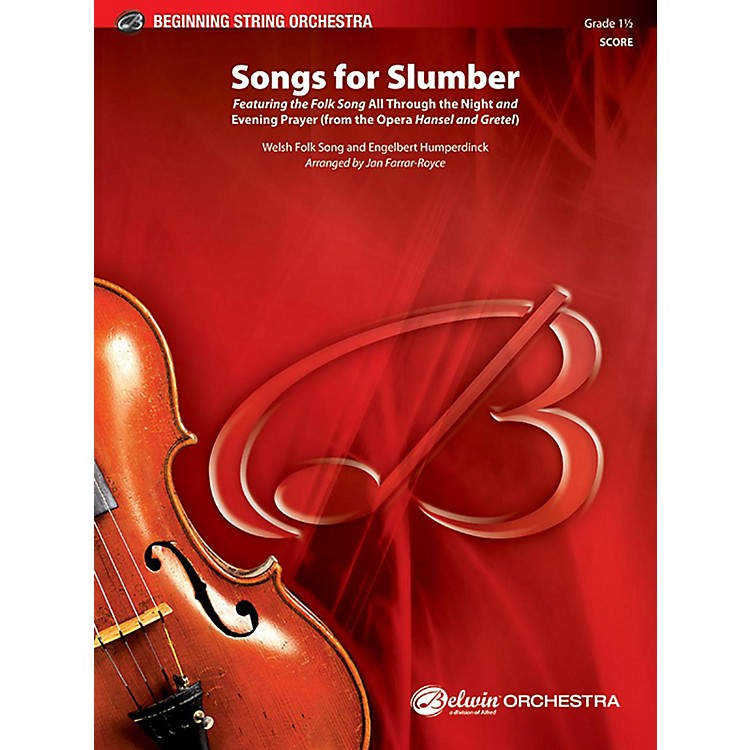 BELWIN Songs for Slumber - Grade 1.5