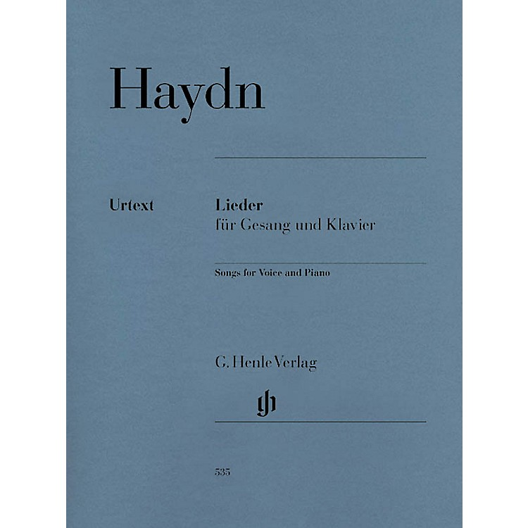 G. Henle VerlagSongs for Voice and Piano Henle Music Folios Softcover Composed by Joseph Haydn Edited by Paul Mies