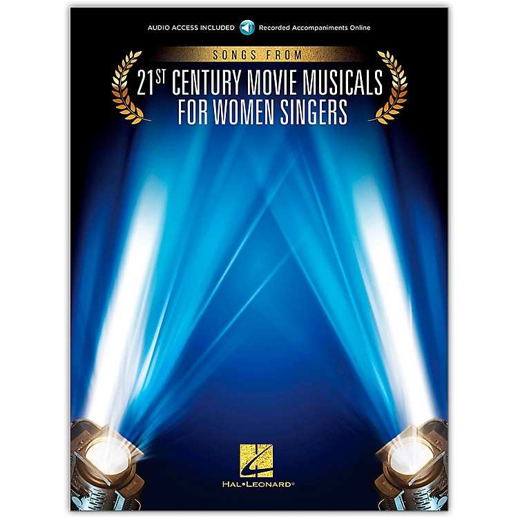 Hal LeonardSongs from 21st Century Movie Musicals for Women Singers Vocal Collection Book/Audio Online
