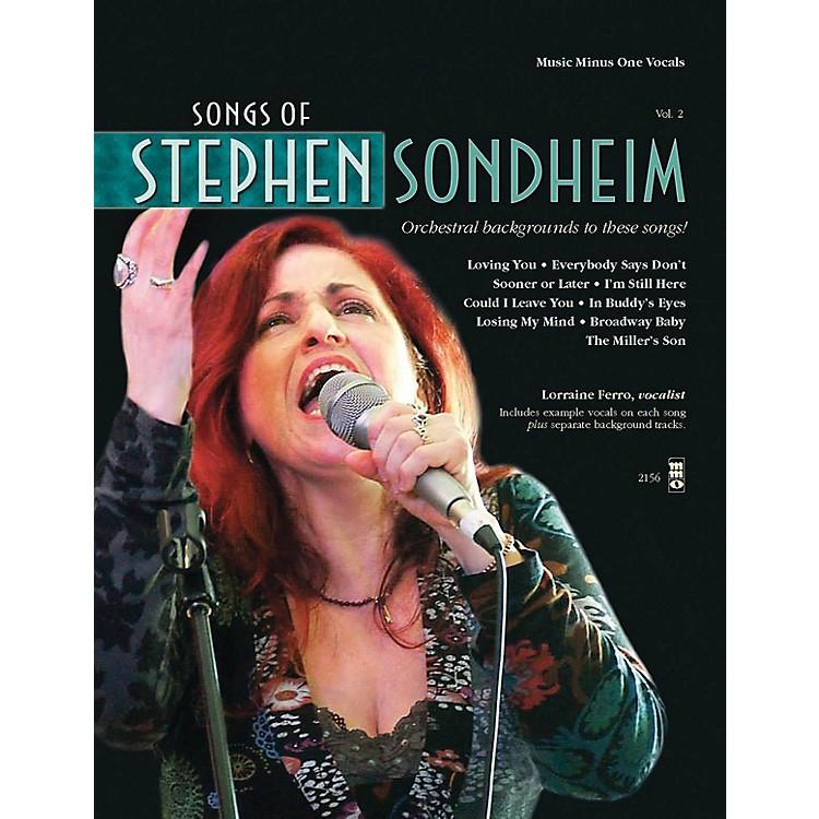 Music Minus OneSongs of Stephen Sondheim, Volume 2 Music Minus One Series Softcover with CD  by Stephen Sondheim