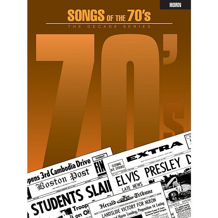 Hal LeonardSongs of the '70s (Horn) Instrumental Folio Series