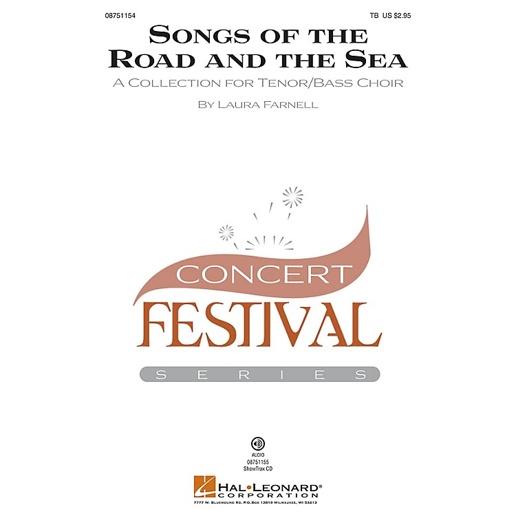 Hal LeonardSongs of the Road and the Sea (A Collection for Tenor/Bass Choir) ShowTrax CD Composed by Laura Farnell