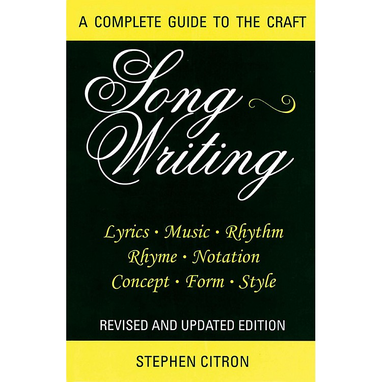 Hal LeonardSongwriting - A Complete Guide To The Craft