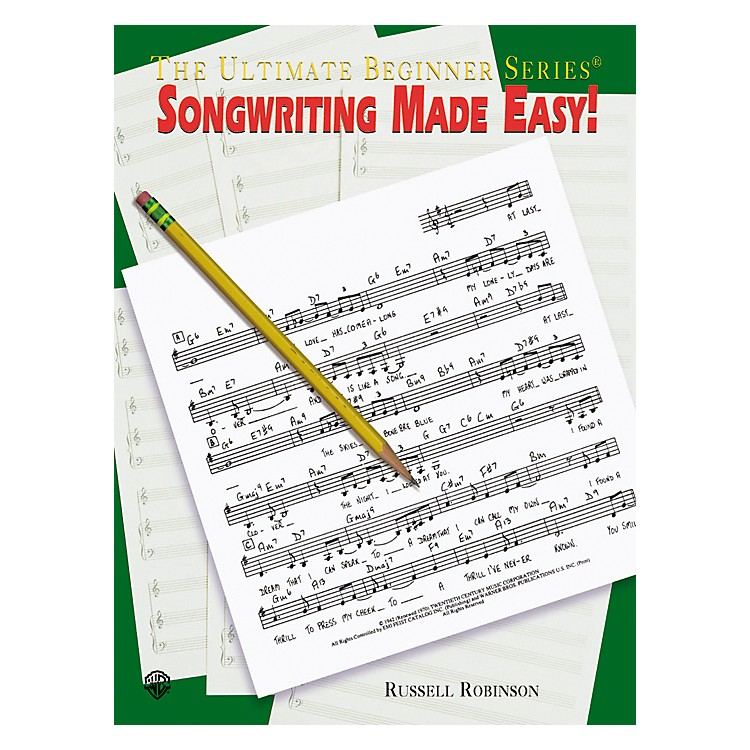 AlfredSongwriting Made Easy Book