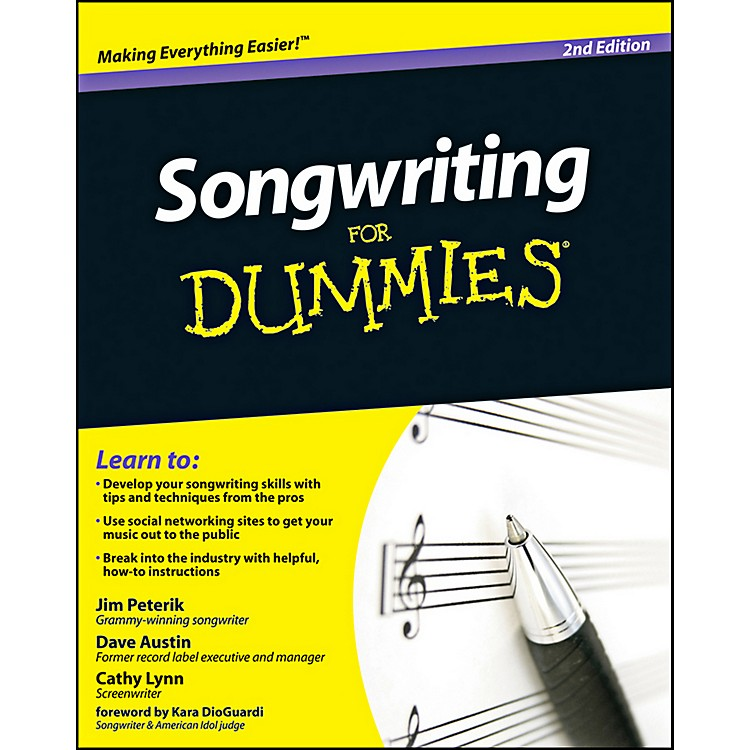 Mel BaySongwriting for Dummies, 2nd Edition Book