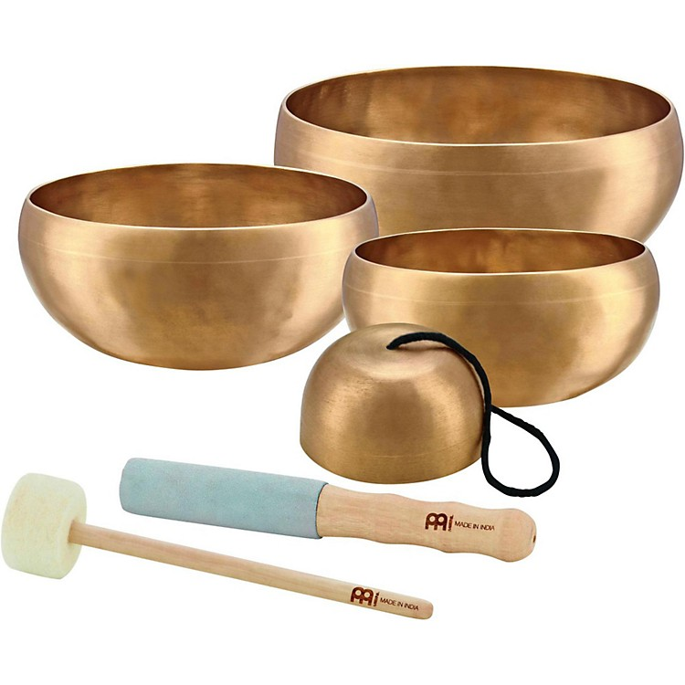 Meinl Sonic Energy Cosmos 4-Piece Singing Bowl Set 3.7, 5.8, 6.6, 7.6 in.
